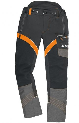 Genuine STIHL X-Flex Design A Trousers (Orange/Black)